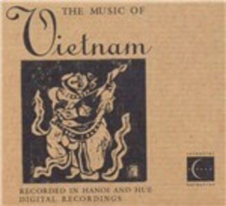 CD The Music of Vietnam