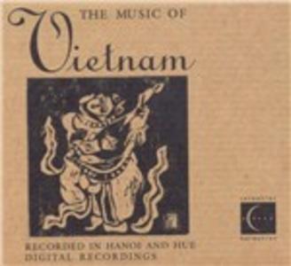 CD The Music of Vietnam