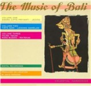 CD Music of Bali