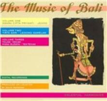 Music of Bali - CD Audio