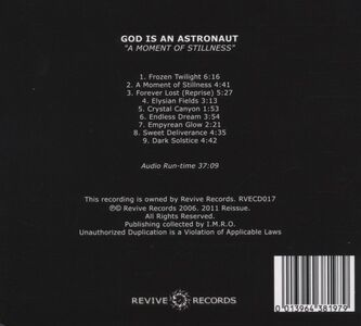 CD Moment of Stillness di God Is an Astronaut 1