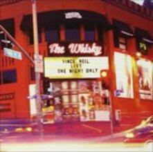 Live One Night Only - CD Audio di Vince Neil