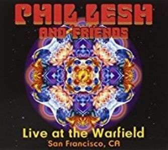 CD Live at the Warfield di Phil Lesh