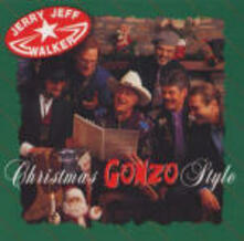 Christmas Gonzo Style - CD Audio di Jerry Jeff Walker