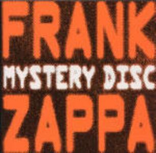 CD Mystery Disc di Frank Zappa