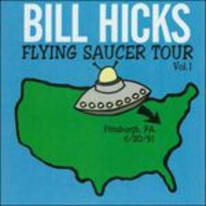 CD Flying Saucer Tour vol.1 di Bill Hicks