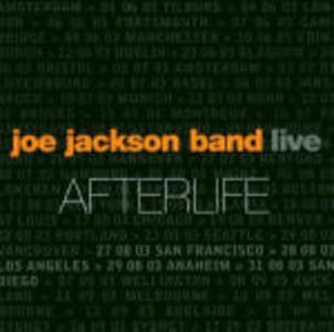 CD Live Afterlife di Joe Jackson (Band)