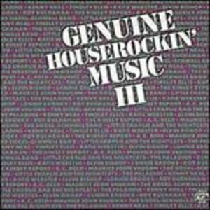 CD Genuine Houserockin' 3