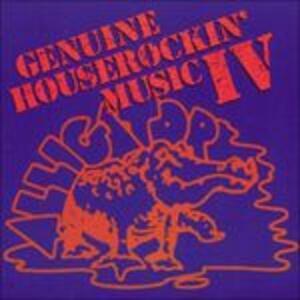 Genuine Houserockin' 4 - CD Audio