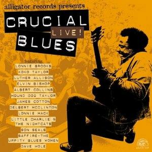 CD Crucial Live Blues