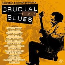 Crucial Live Blues - CD Audio