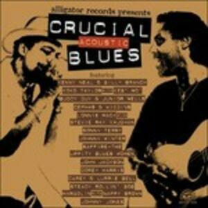 CD Crucial Acoustic Blues