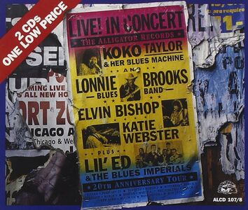 CD 20th Anniversary Tour di Koko Taylor