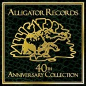 CD Alligator Records. 40th Anniversary Collection