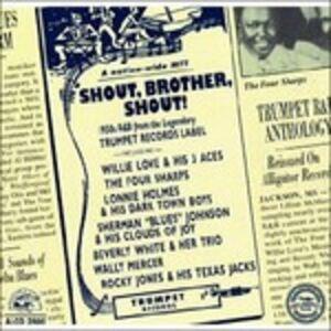 Foto Cover di Shout, Brother, Shout, CD di  prodotto da Alligator