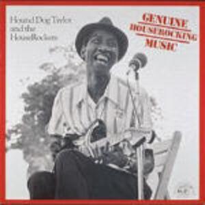 CD Genuine Houserockers Music Hound Dog Taylor , Houserockers