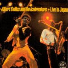 Live in Japan - CD Audio di Albert Collins