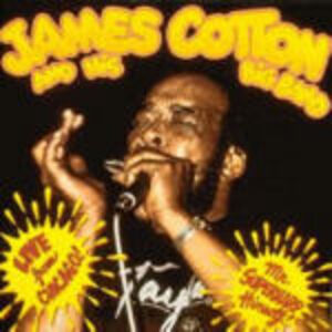 CD Live from Chicago di James Cotton
