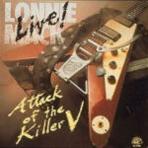CD Live! Attack of the Killer V di Lonnie Mack