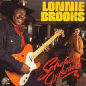 CD Satisfaction Guaranteed di Lonnie Brooks