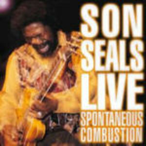 Foto Cover di Spontaneous Combustion, CD di Son Seals, prodotto da Alligator