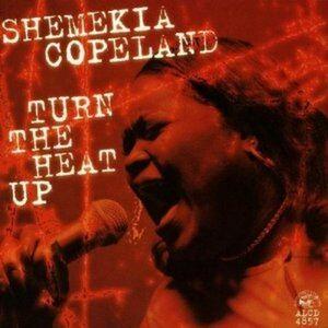 Foto Cover di Turn the Heat up, CD di Shemekia Copeland, prodotto da Alligator