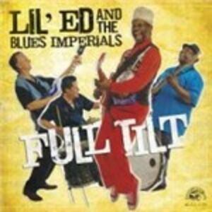 Foto Cover di Full Tilt, CD di Lil' Ed,Blues Imperials, prodotto da Alligator