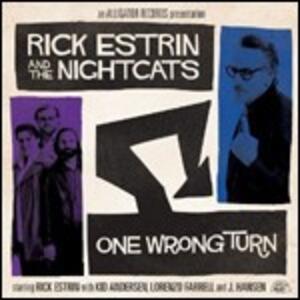 One Wrong Turn - CD Audio di Nightcats,Rick Estrin