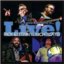 You Asked for it... Live! - CD Audio di Nightcats,Rick Estrin