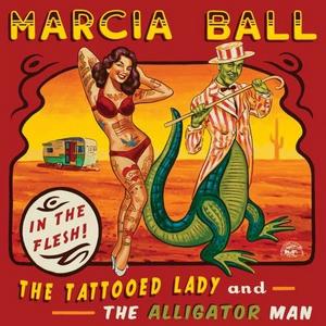 CD Tattooed Lady & the Alligator Man di Marcia Ball