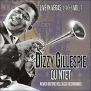 CD Live in Vegas 1963 vol.1 di Dizzy Gillespie