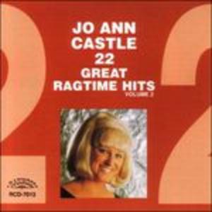 CD 22 Great Ragtime Hits 2 di Jo Ann Castle