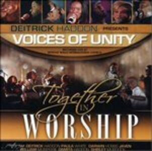 Foto Cover di Together in Worship, CD di Deitrick Haddon, prodotto da Asaph