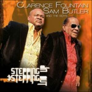 Foto Cover di Stepping Up & Stepping Out, CD di Sam Butler,Clarence Fountain, prodotto da Tyscot