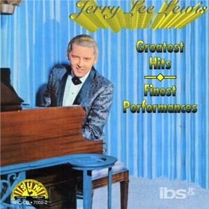 CD Greatest Hits di Jerry Lee Lewis