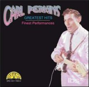 CD Greatest Hits di Carl Perkins