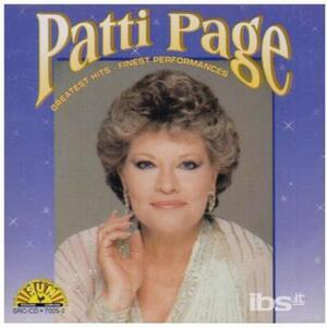 Greatest Hits - CD Audio di Patti Page