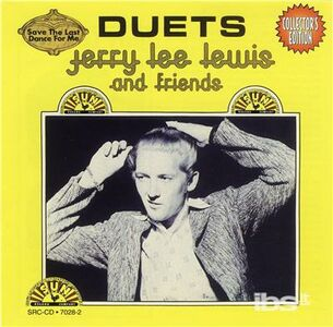 Foto Cover di Duets, CD di Jerry Lee Lewis, prodotto da Sun