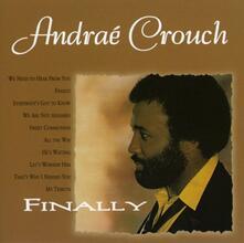 Finally - CD Audio di Andrea Crouch