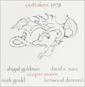 Outtakes 1978 - CD Audio di Cooper-Moore