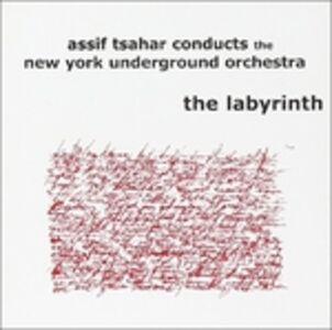 Foto Cover di Labyrinth, CD di Assif Tsahar, prodotto da Hopscotch