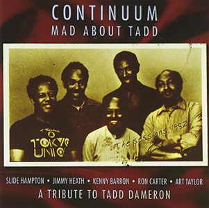CD Mad About Tadd di Continuum