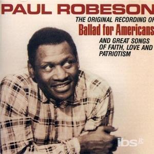 CD Ballad for Americ di Paul Robeson