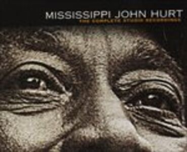 CD Complete Studio Recording di Mississippi John Hurt