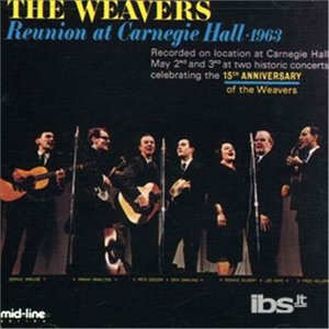 CD Reunion at Carn Hall 1963 di Weavers