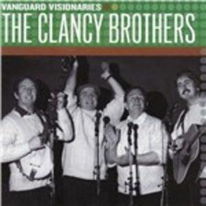 CD Vanguard Visionaries di Clancy Brothers