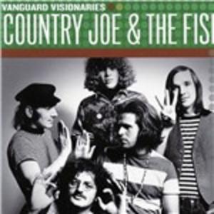 CD Vanguard Visionaries di Country Joe & the Fish