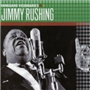 CD Vanguard Visionaires di Jimmy Rushing