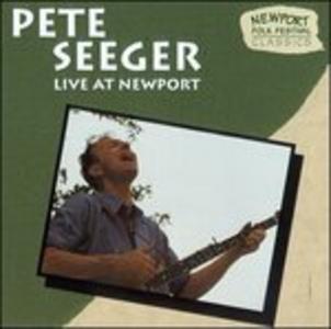CD Live at Newport di Pete Seeger