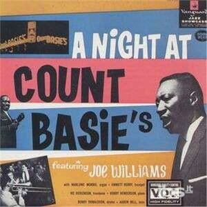 CD A Night at Count Basie's di Joe Williams